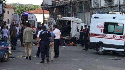 Güne Edirne'den gelen korkunç bir haberle uyandık! 10 ölü, 30 yaralı