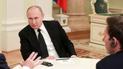 Putin'den Suriye sorusuna kritik 'Türkiye' cevabı! 'Kazandık'