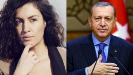 Tuğba Ekinci'nin Cumhurbaşkanı Erdoğan paylaşımı büyük yankı uyandırdı!