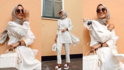 Beyaz kıyafetler nasıl kombinlenir? Beyaz kıyafet kombinlerken yapılmaması gerekenler