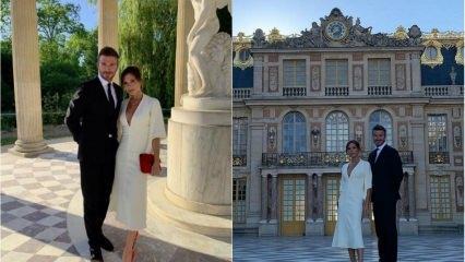 David ve Victoria Beckham 20. yıllık evliliklerini kutladı!