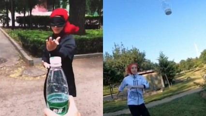 Dünya Şampiyonlardan 'Bottle Cap Challange' akımına yeni bir boyut!