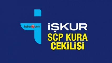 İŞKUR SÇP kura çekilişi duyurusu: Sosyal Çalışma Programı başvuruları...