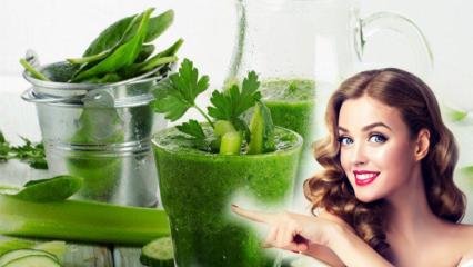 Aç karna maydanoz suyu içmenin faydaları neler? Göbek eriten maydanoz suyu ile zayıflama