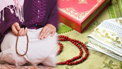 Namaz kıldıktan sonra tesbihte ne çekilir? Namazdan sonra okunacak dua ve zikirler!