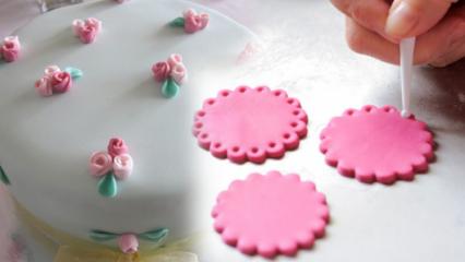 Şeker hamuru nasıl yapılır? Şeker hamuru nasıl açılır?