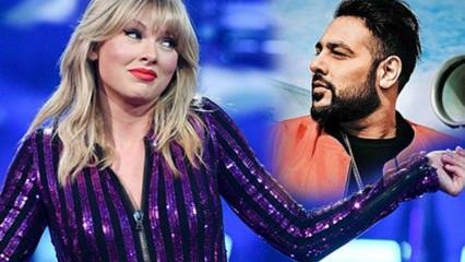Hint şarkıcı Badshah Taylor Swift'i tahtından indirdi!