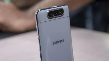 Samsung Galaxy A80 Türkiye'de: İşte A80'in Türkiye fiyatı ve özellikleri!