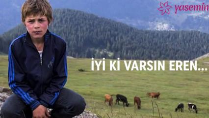 Türk Hava Yolları'nın 'İyi ki Varsın Eren'i uçtu!