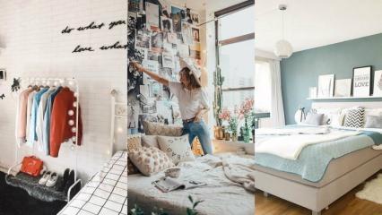 Yeni gelin evleri için birbirinden şık yatak odası dekorasyonu önerileri