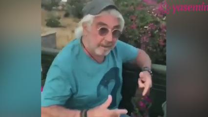 71 yaşındaki oyuncu Erdal Özyağcılar'dan rap performansı!
