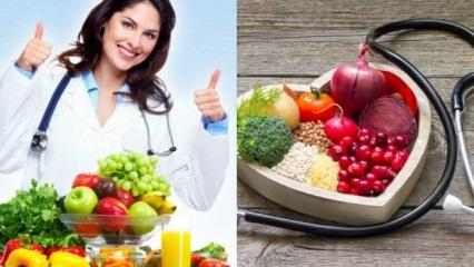 Çarçabuk zayıflamak isteyenlere özel 1 haftada 5 kilo verdiren diyet listesi