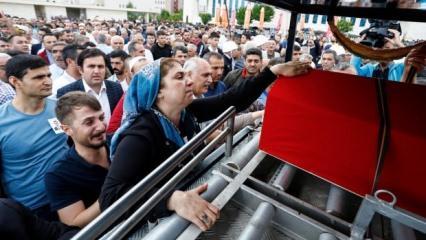 Erbil şehidi Osman Köse son yolculuğuna uğurlandı