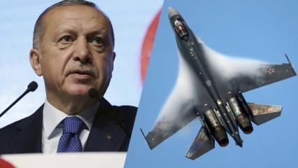 Gündeme bomba gibi düşen Su-35 iddiası: Erdoğan harekete geçti