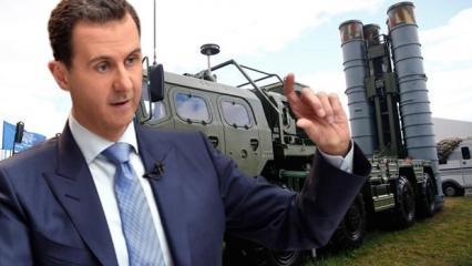 S-400'ler Türkiye'de! Esed rejiminden ilk yorum