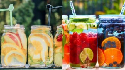 Hem lezzetli hem sağlıklı detoks suyu tarifleri: Yağ eriten detoks kürü!