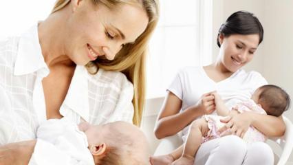 Yenidoğan bebeklerde doğru emzirme yöntemleri neler? Emzirirken yapılan yanlışlar