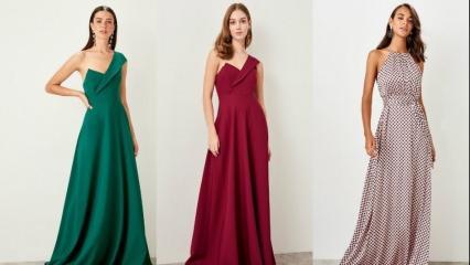 2019 yeni sezon abiye elbise modelleri