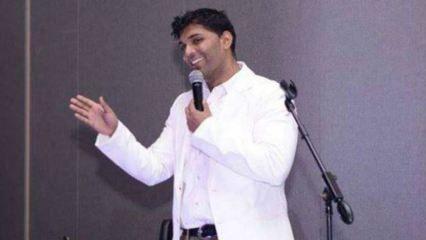 Hindistanlı komedyen Manjunath Naidu sahnede öldü! Seyirciler anlamadı