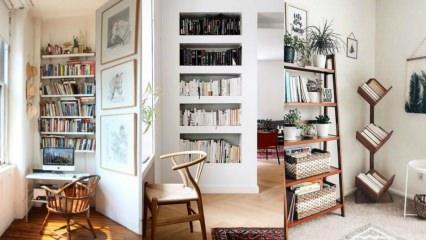Evinizde mini bir kütüphane oluşturmanın yolları
