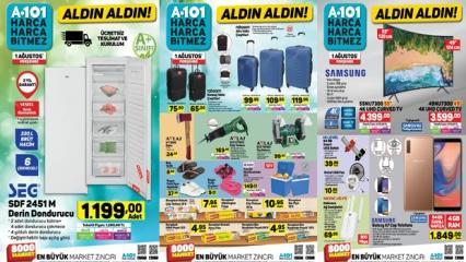 A101 2 Ağustos aktüel ürünler kataloğu!