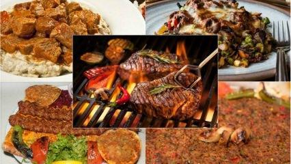 En kolay ve lezzetli etli yemek tarifleri