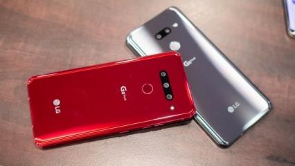 LG G8s ThinQ Tükriye'de satışa çıkıyor: Kilit için avucunuz yetecek!