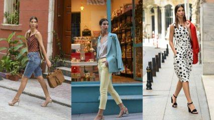 2019 yaz modasının trend giyim modelleri