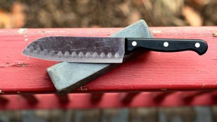 Bıçak nasıl bilenir? Evde kolay bıçak bileme yöntemleri