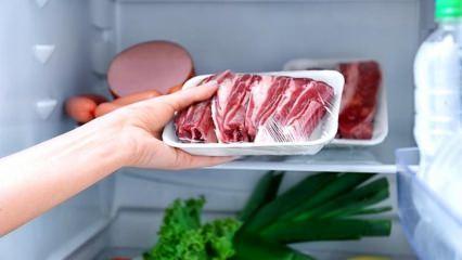Buzdolabına etler nasıl yerleştirilir?