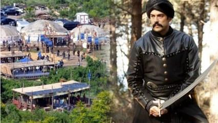 Diriliş Osman nerede çekilecek? Yeni sezon için Diriliş Osman'ın kurulan seti...