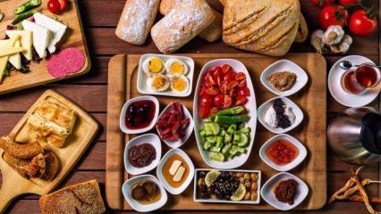 En iyi kahvaltı nasıl yapılır? Kahvaltıların olmazsa olmaz besinleri...