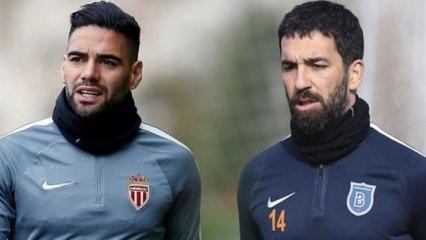 'Falcao Galatasaray için Arda'yı aradı'