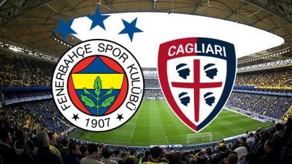 Fenerbahçe Cagliari maçı saat kaçta? F.Bahçe'nin maçı şifresiz kanalda mı?