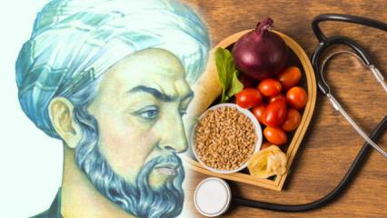 İbn-i Sina'nın sağlık reçetesinde yer alan besinler nelerdir?