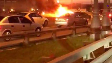 Tesla, Moskova otobanında bomba gibi patladı