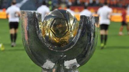 TFF Süper Kupa finalinin saati değişti!