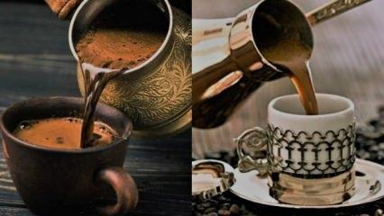 Sade leziz Türk kahvesi diyeti listesiyle kolay yollardan hızlı zayıflama