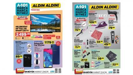 A101 16 Ağustos aktüel kataloğu! Elektrikli ev aletlerinde indirimli fiyat...