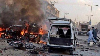 Pakistan'da patlama: Çok sayıda ölü ve yaralı var