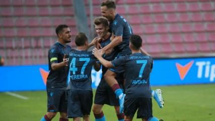 Trabzonspor'da Sörloth'a ilk 11 yolu gözüktü!