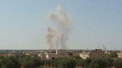 Rus savaş uçakları hastaneyi vurdu