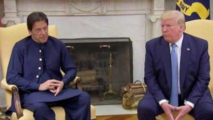 ABD başkanı Trump'tan Keşmir için diyalog çağrısı!
