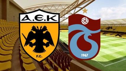 AEK Trabzonspor maçı saat kaçta şifresiz kanalda mı yayınlanacak?
