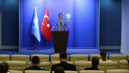 AK Partili Çelik'ten Emine Bulut açıklaması