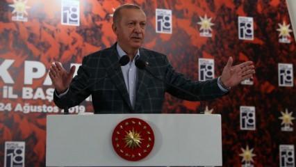 Cumhurbaşkanı Erdoğan: Kapının önüne koyarız