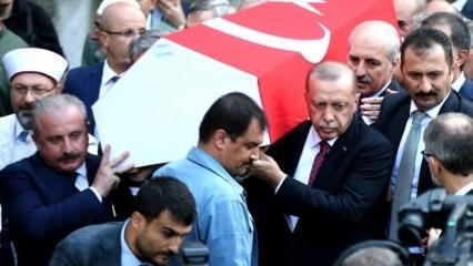Erdoğan'dan mesaj: Haluk Hoca hiç merak etme...