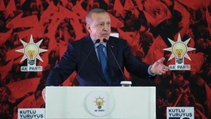 Erdoğan'dan ünlü sanatçıya övgü dolu sözler!