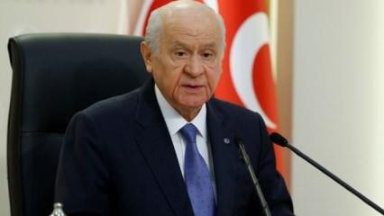 MHP lideri Bahçeli: Bu tablo rezil ve utanç vericidir'