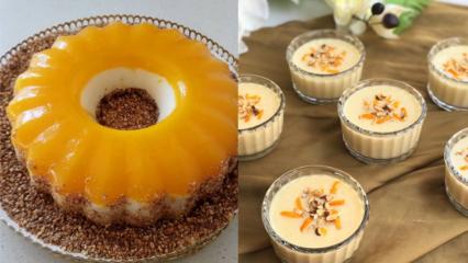 Pratik portakallı irmik tatlısı nasıl yapılır?